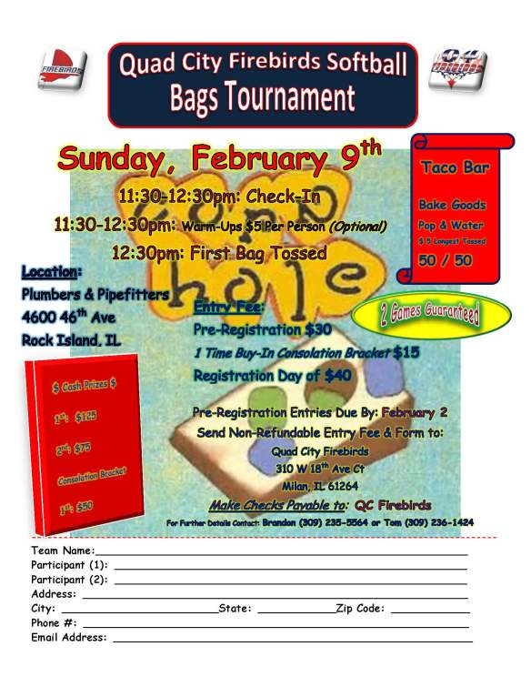 Bags Tournament Flyer
