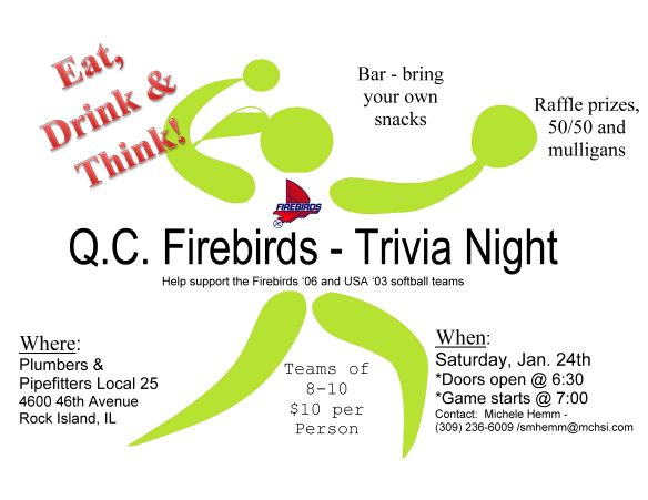 06 and 03 trivia flyer